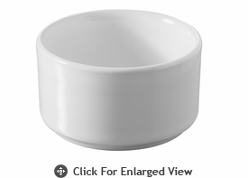 Revol Porcelain Cook & Play Ramekin Shallow White