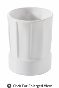 Revol Porcelain Happy Cuisine Topper 5.25oz  White