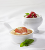 Revol Porcelain Miniatures Miniature Lion Headed Soup Bowl White