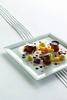 "Revol Porcelain Time Square 7.75"" Square Plate White"