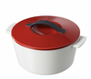 Revol Revolution Line 7.5� Round Cocotte w/ Lid Pepper Red