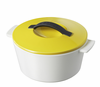 Revol Revolution Line 7.5� Round Cocotte w/ Lid Seychelles Yellow