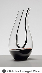 Riedel Black Tie Amadeo Crystal Wine Decanter