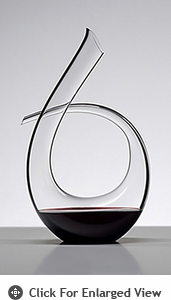 Riedel Black Tie Crystal Wine Decanter