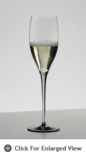 Riedel Sommeliers Black Tie Vintage Champagne Crystal Wine Glass (Set of Four)