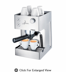 Saeco Traditional Espresso Machine Aroma Redesign Stainless Steel