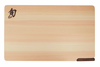 Shun Gourmet Cutlery Hinoki Wood Cutting Board w/ Built-in Stand