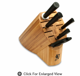 Shun Sora 6 pc Knife Block Set