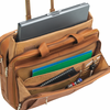 "SOLO 15.6"" Rolling Laptop Case Tan"