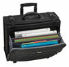 SOLO Ballistic Nylon Rolling Computer/Catalog Case w/Hanging File