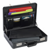 SOLO Expandable Computer Attaché Black