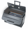 SOLO Leather Look Vinyl Rolling Catalog Case