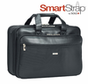 "SOLO Smart Strap� 16"" Laptop Portfolio � Black"
