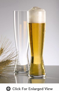 Spiegelau Beer Classics Tall Pilsner Glass Set of Two