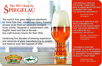 Spiegelau <br>Crystal Beer Glasses