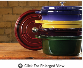 Staub Enameled Cast Iron Cookware