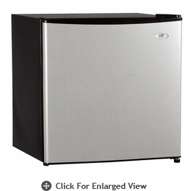Sunpentown 1.6cf Compact Refrigerator Stainless  w/ Energy Star