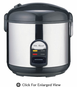 Sunpentown  10 Cups Rice Cooker  with Stainless Body