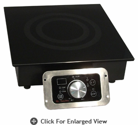 Sunpentown 1800W Built-In Commercial Induction Range Model SR-183R