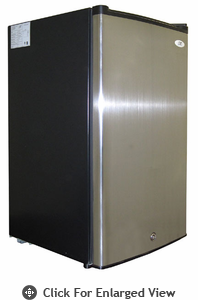 Sunpentown 2.8 CU.FT Upright Freezer Stainless