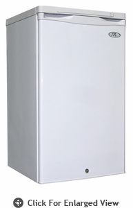 Sunpentown 2.8 CU.FT Upright Freezer  White
