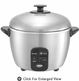 Sunpentown 3-Cup Stainless Steel Cooker & Steamer