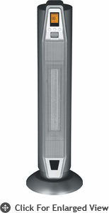 Sunpentown Ceramic Tower Heater With Thermostat