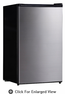 Sunpentown  Compact Refrigerator Stainless  With Energy Star
