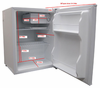 Sunpentown Compact Refrigerator White - Energy Star