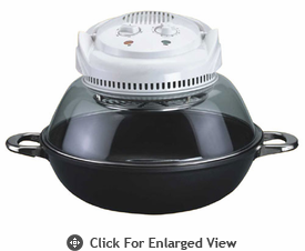 Sunpentown  Convection Oven  With Wok Base  (Nono-Carbon Fiber & Fir)