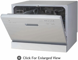Sunpentown  Countertop Dishwasher  Sliver