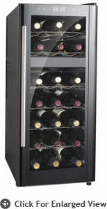 Sunpentown Dual-Zone Thermo-Electric  Wine Cooler With Heating (21 Bottles)