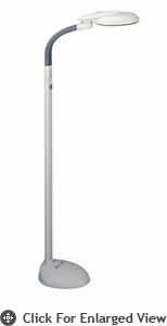 Sunpentown  EasyEye Energy Saving Floor Lamp with Ionizer (4-tube)