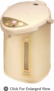 Sunpentown  Hot Water Pot  With Multi-Temp  Function (5.L)