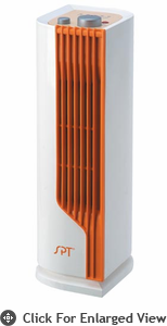 Sunpentown Mini Tower Ceramic Heater