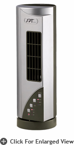 Sunpentown  Mini Tower Fan with Ionizer