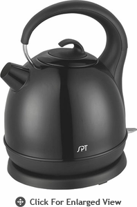 Sunpentown  Stainless Cordless  Electric Kettle Black