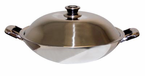 Sunpentown   Stainless Steel Wok