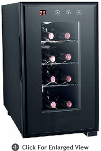 Sunpentown  Thermo-Electric  Slim Wine Cooler  With Heating (8 Bottle)