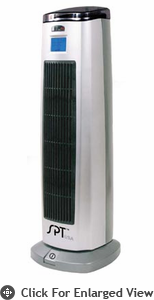 Sunpentown Tower Ceramic Heater With Ion