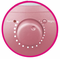Sunpentown  Ultrasonic Humidifer   with Fragrance Diffuser  Pink
