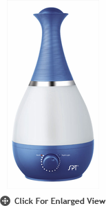 Sunpentown  Ultrasonic Humidifer  with Fragrance Diffuser  Royal  Blue