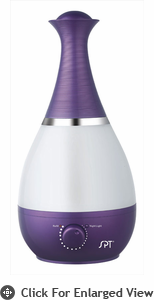Sunpentown Ultrasonic Humidifer  with Fragrance Diffuser  Violet