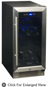 Sunpentown Under Counter  Wine & Beverage Cooler (32-bottle)
