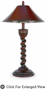 Uniflame New Orleans   Electric Table Lamp Heater