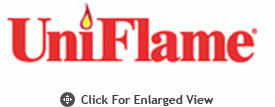UniFlame Outdoor Firehouse