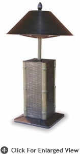 Uniflame  Sumatra  Electric Table Lamp Heater