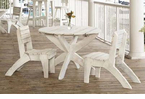 """Uwharrie Chair Company�   The Companion Series   42"""" Dining Table"""