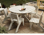 """Uwharrie Chair Company�   The Companion Series  60"""" Dining Table"""