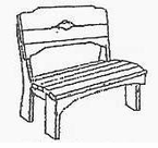 Uwharrie Chair Company�   The Harvest Collection   Kid's Picnic Bench